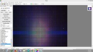 LED Edit - K User Interface