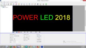 Power LED Software Interface